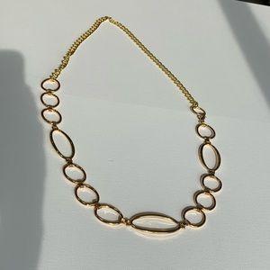 "Gold chain belt 47"" total"